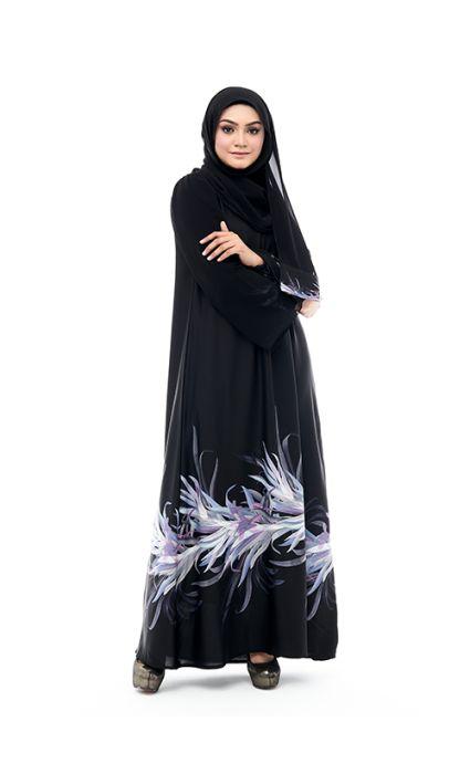 Aafia Abaya Amethyst Purple