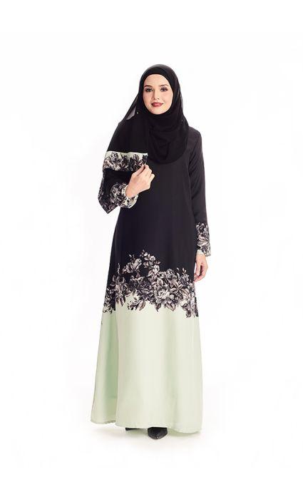 Amina Abaya  Sage Green