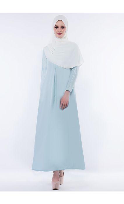 Anna Dress Icy Blue