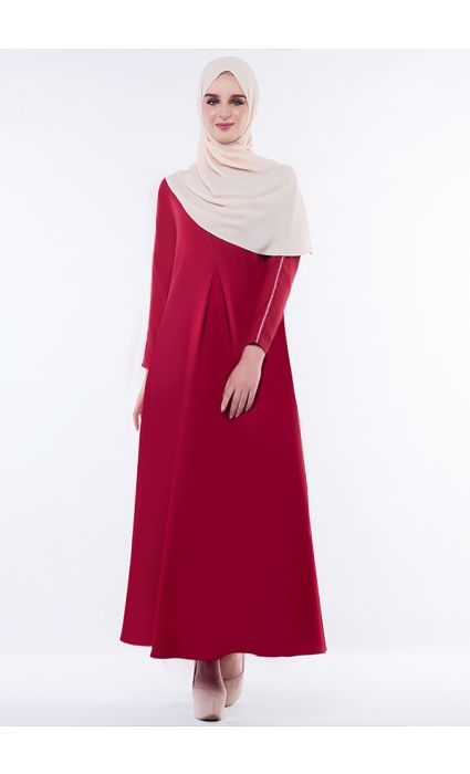 Anna Dress Poppy Red