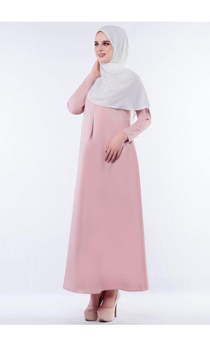 Anna Dress Rosebloom Pink
