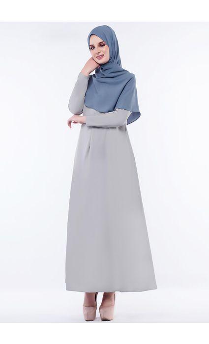 Anna Dress Storm Gray