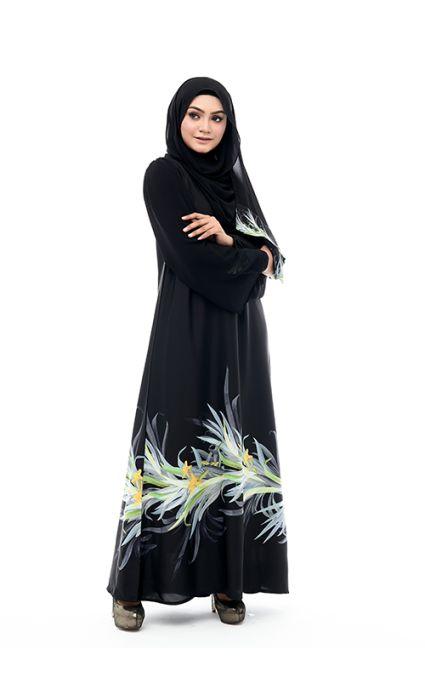 Aafia Abaya Aqua Blue