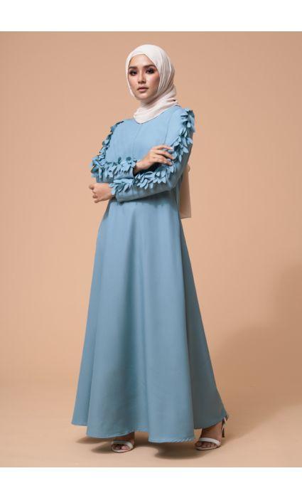 Raina Dress Aqua Haze