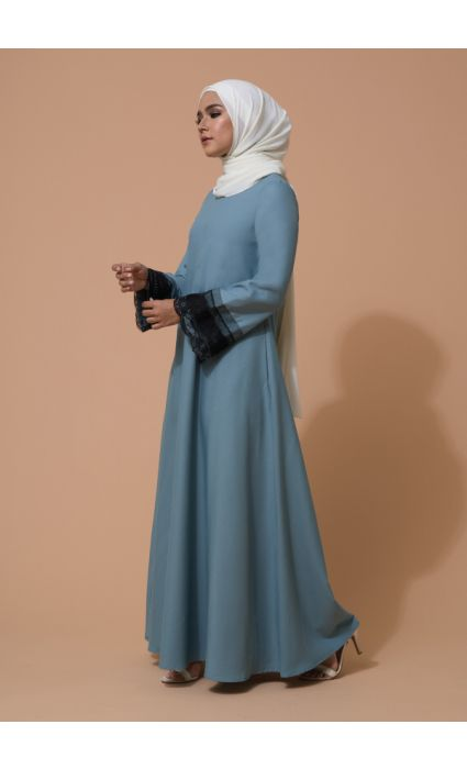 Aifa Dress Aqua Haze