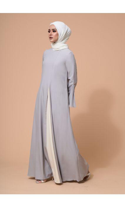 Eyza Dress Ash Gray