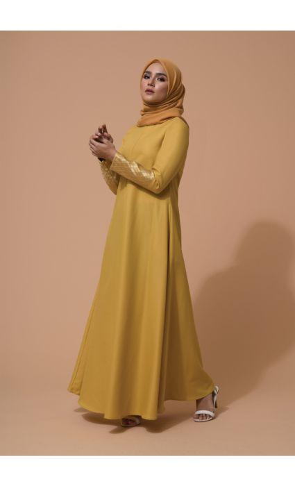 Raffa Dress Aspen Gold