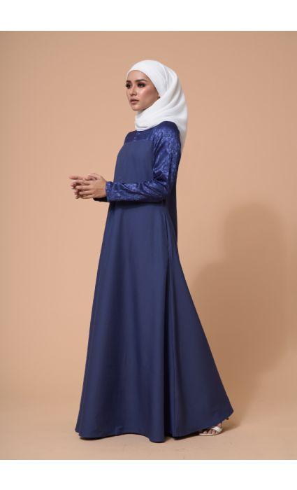 Raahi Dress Blue Depths