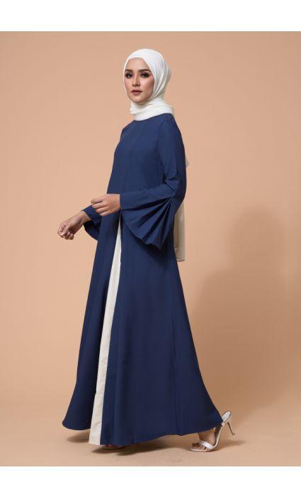 Eyza Dress Midnight Blue