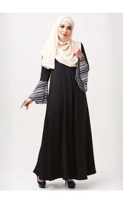 Bohemian Dress Black Swan