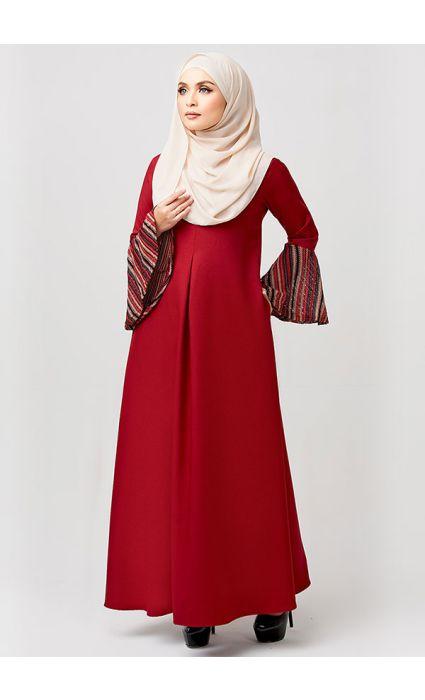 Bohemian Dress Poppy Red