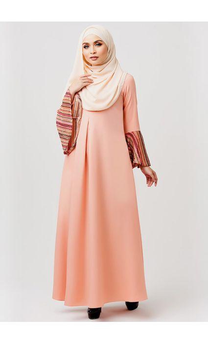 Bohemian Dress Tropical Peach