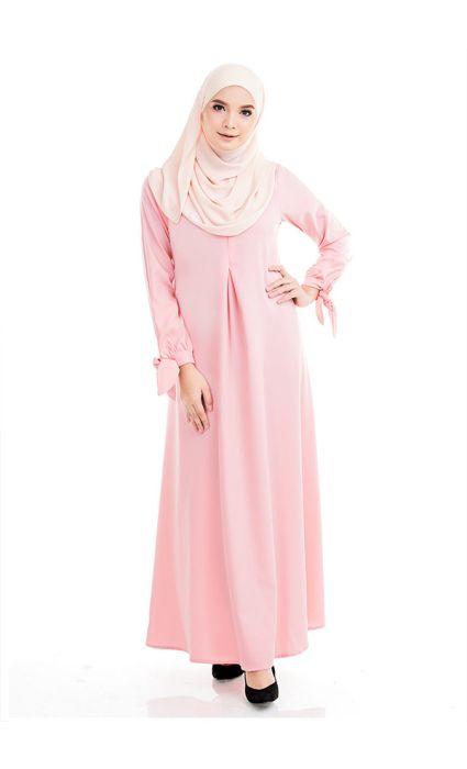 Bow Dress Pink Blossom