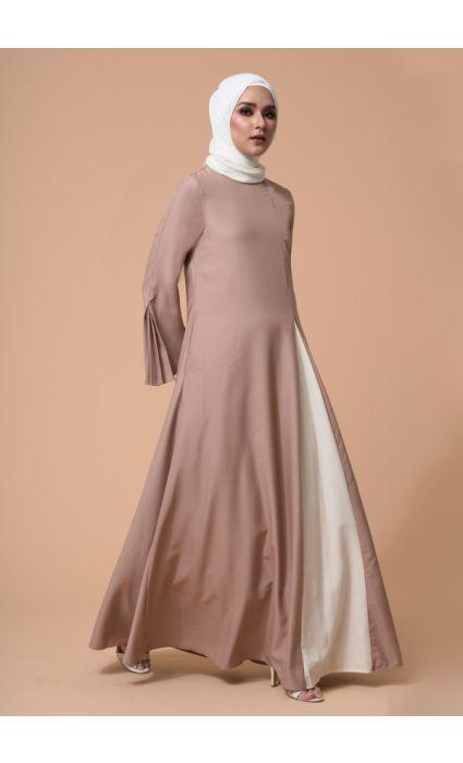 Eyza Dress Brush Brown
