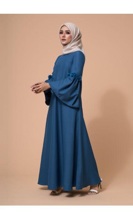 Barqa Dress Colonial Blue