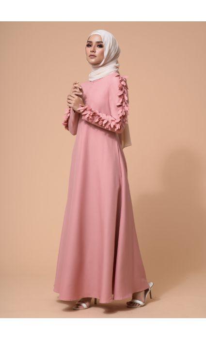 Raina Dress Coral Pink