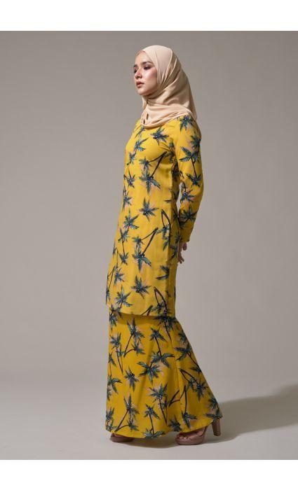 Kurung Grace Corn Yellow