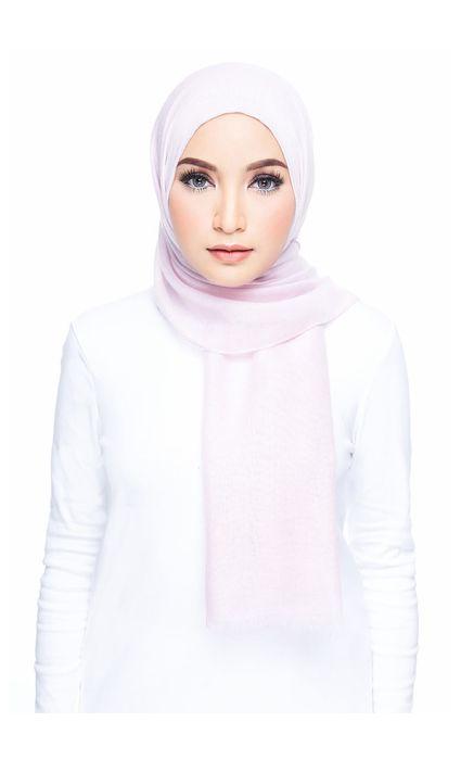 Cotton Wide Shawl Lilac