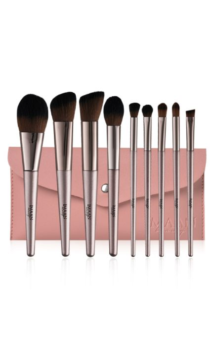 Makeup Brushes Dusty Pink