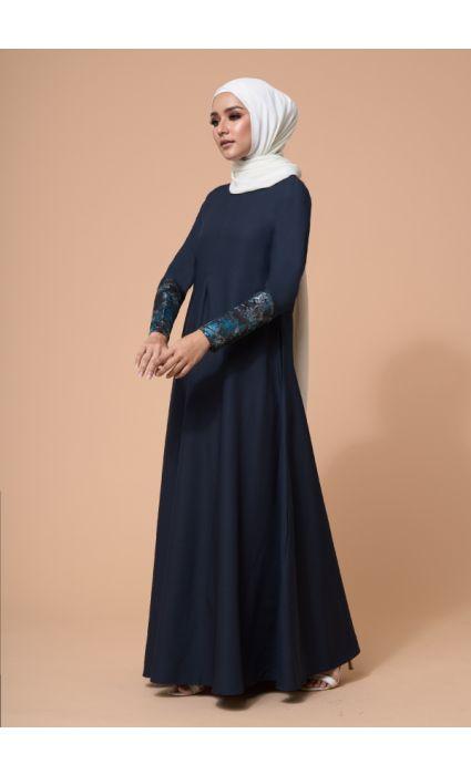 Naajia Dress Midnight Blue