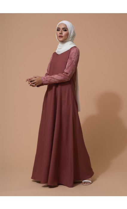Alea Dress Ash Rose
