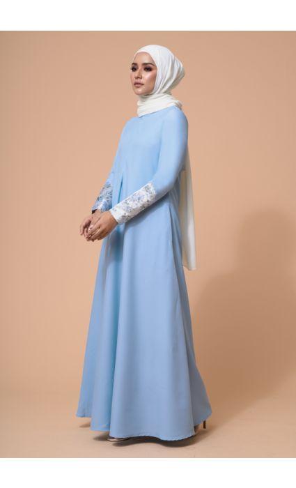 Naajia Dress Dusk Blue