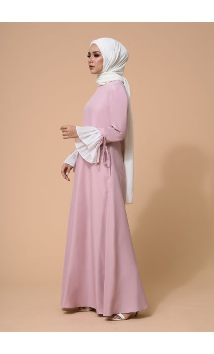 Gia Dress Dusty Mauve
