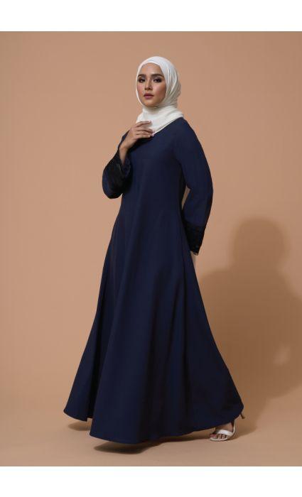 Aifa Dress Evening Blue