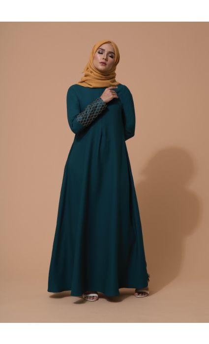 Raffa Dress Evergreen