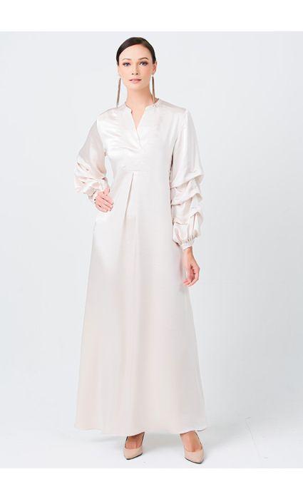 Faith Dress Ivory Cream