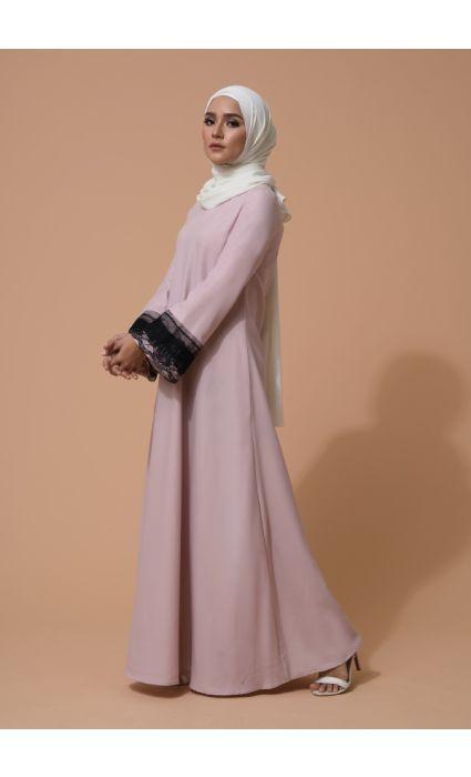 Aifa Dress Peach Blush