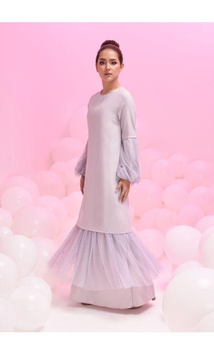 Grace Dress Glacier Gray