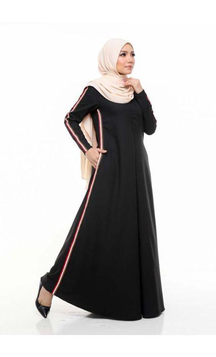 Gucci Jubah Dress Peat Black