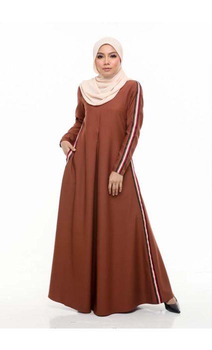 Gucci Jubah Dress Russet