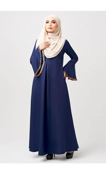 Gypsy Dress Elton Blue