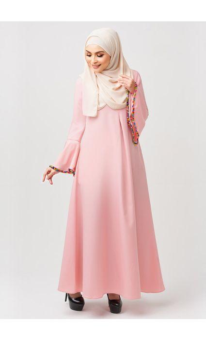 Gypsy Dress Peach Blush