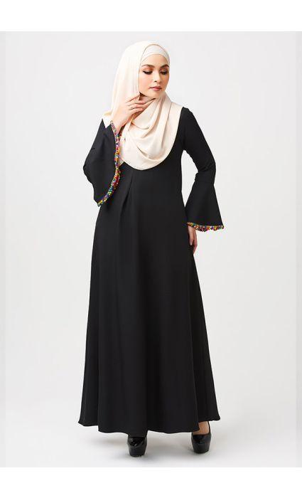 Gypsy Dress Storm Black