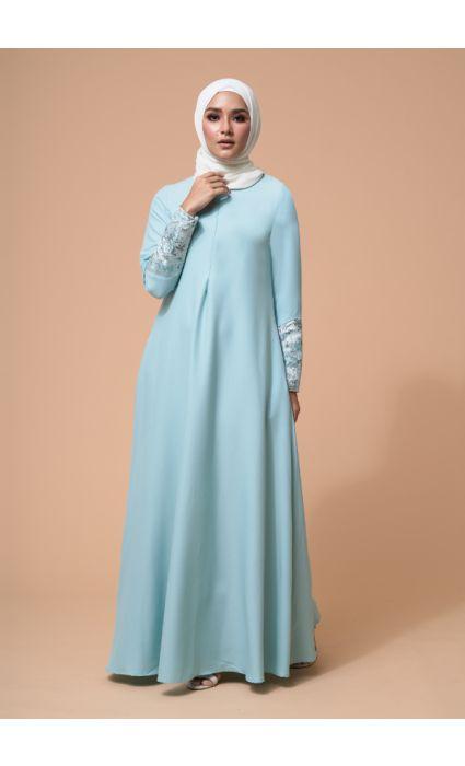 Naajia Dress Ice Green