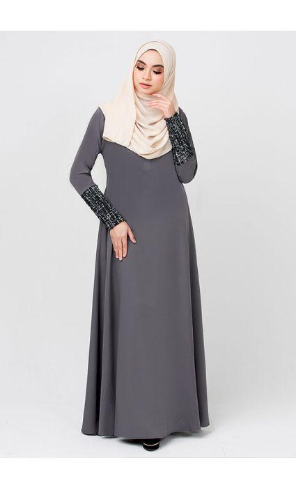 La Chanelia Dress Ash Gray