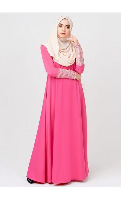 La Chanelia Dress Pink Coral