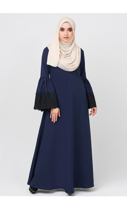 Lacey Dress  Magical Blue