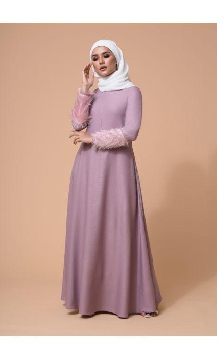 Amna Dress Lilac