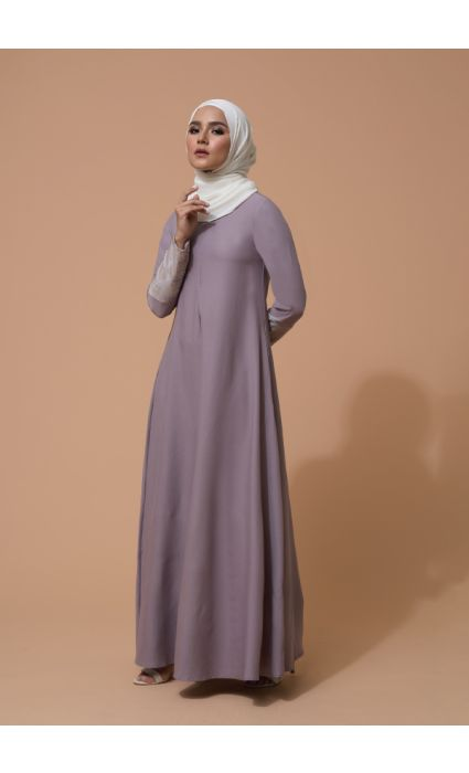 Raisa Dress Lilac Ash
