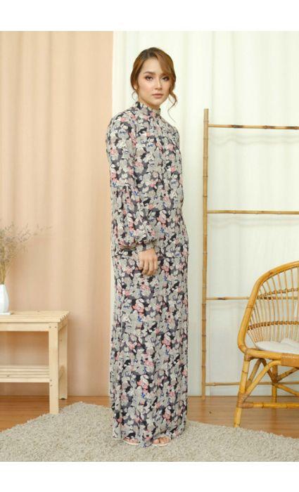 Lilia Comfort Kurung Poppy Gray