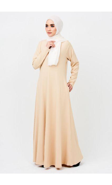 Linear Dress Buttermilk