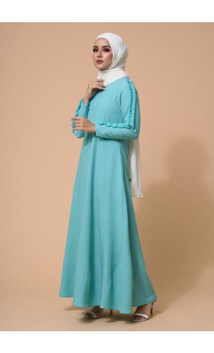 Zara Dress Lucite Green