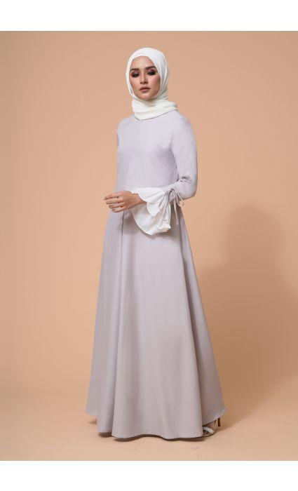 Gia Dress Lunar Gray