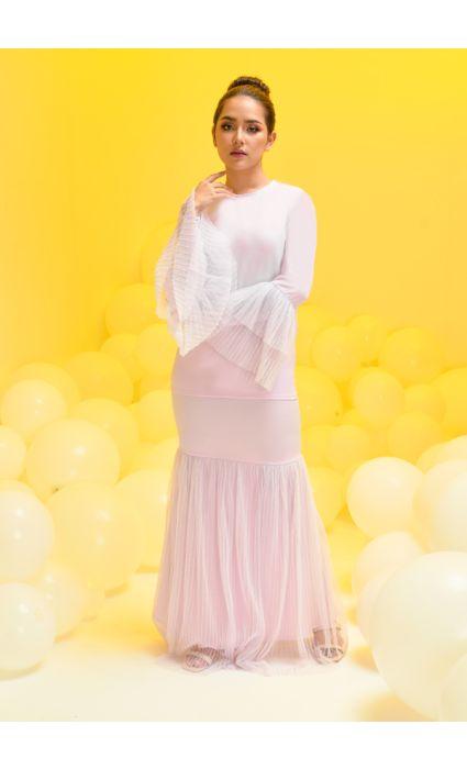 Madeline Kurung Light Lilac
