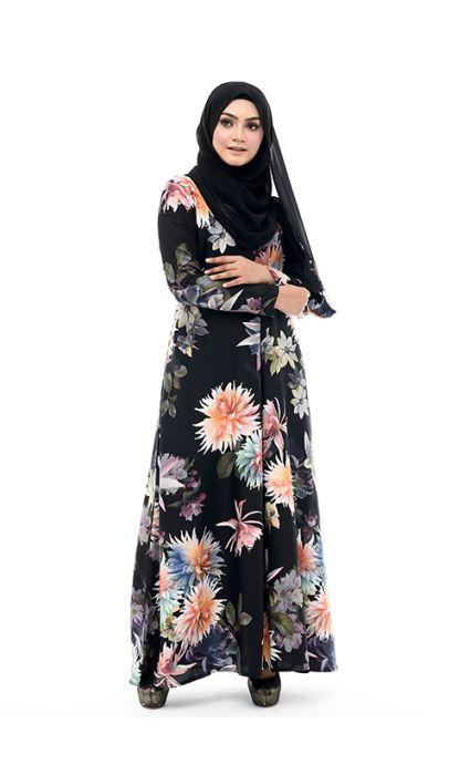 Maheen Dress Coral