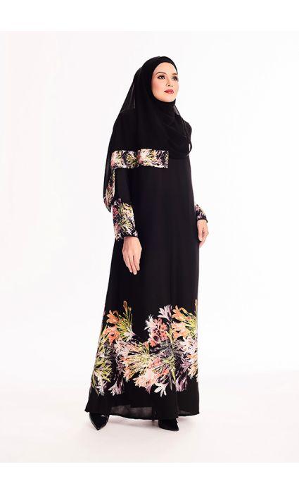 Maryam Abaya  Vermallion